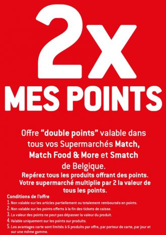 Double bons Double points match