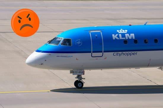 Service client KLM incompétent